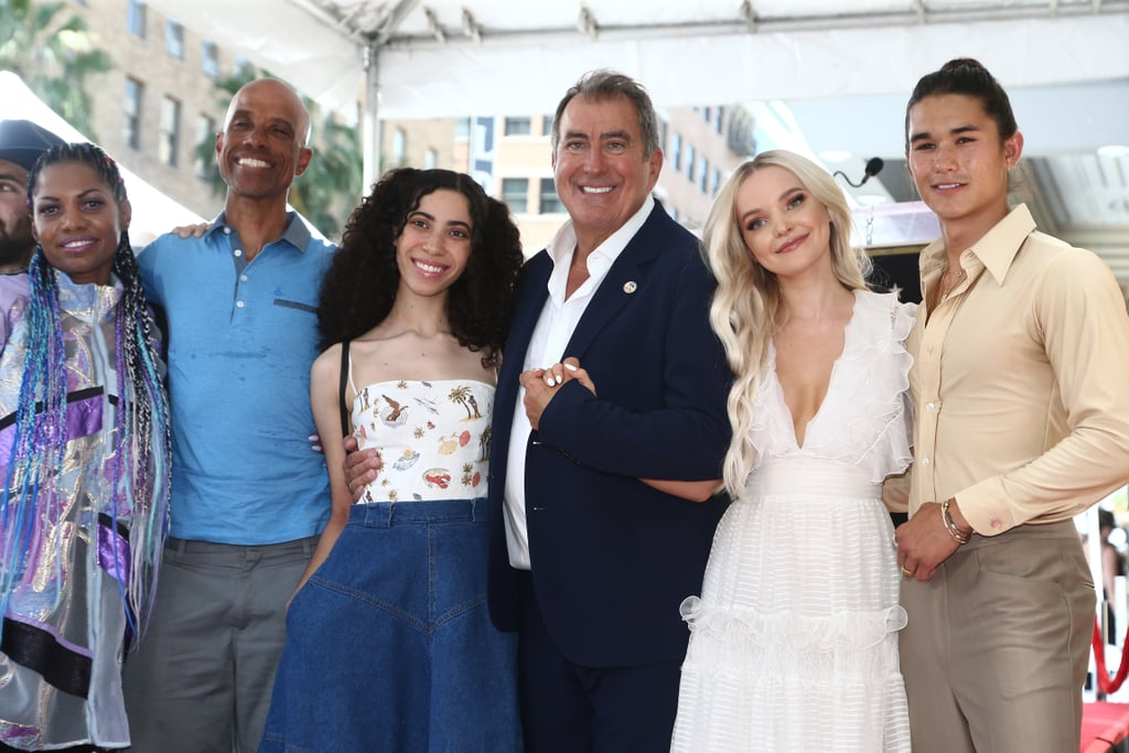 Cameron Boyce's Family at Kenny Ortega Walk of Fame Ceremony