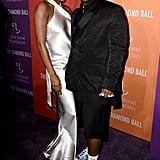Renell Medrano and A$AP Ferg at the 2019 Diamond Ball