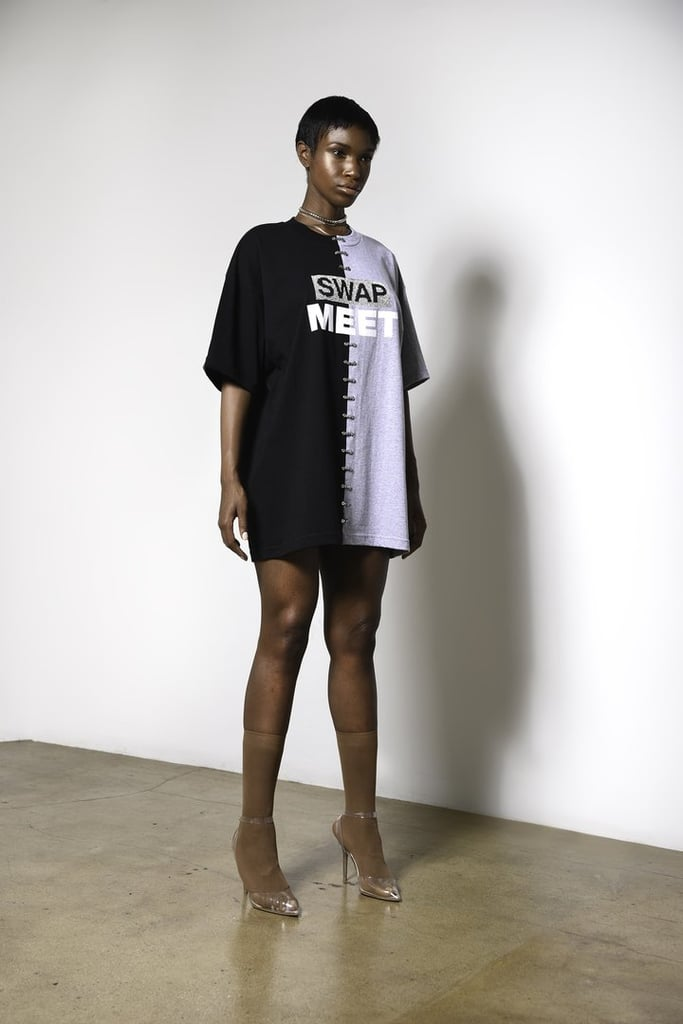 Here's a t-shirt that makes a statement ($110), and if you're petite like Ariana, you can wear it as a dress.