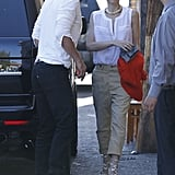 Gwen Stefani and husband Gavin Rossdale headed out on a date night in LA.