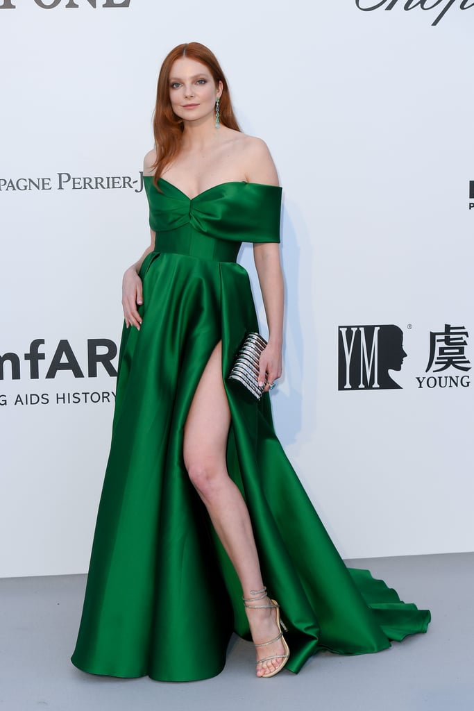 Eniko Mihalik at the amfAR Cannes Gala