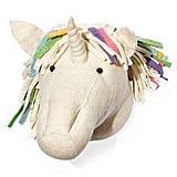 Rainbow Unicorn Head Wall Mount