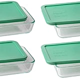 Pyrex 3-Cup Glass Storage Containers (Set of 4)