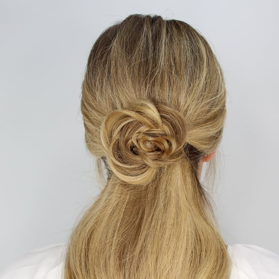 Rose Ponytail Tutorial