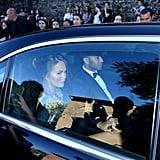 Chrissy Teigen and John Legend arrived for the ceremony.