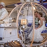 These Newlyweds Got to Ride Off in Cinderella's Carriage After Their Fairy-Tale Wedding