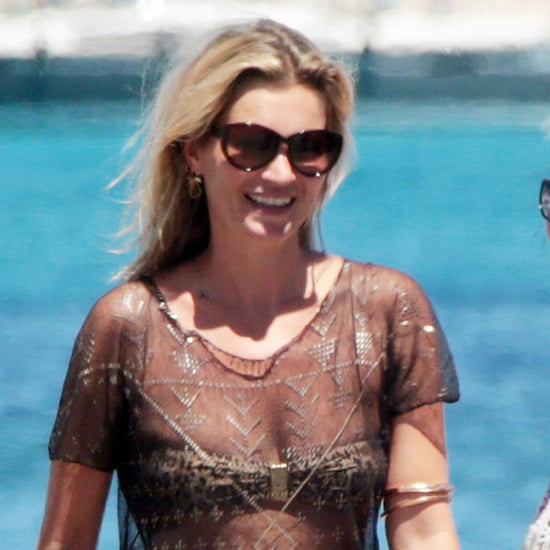 Kate Moss in a Bikini in Formentera