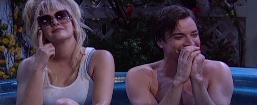 Jimmy Fallon Laughing During SNL Skits