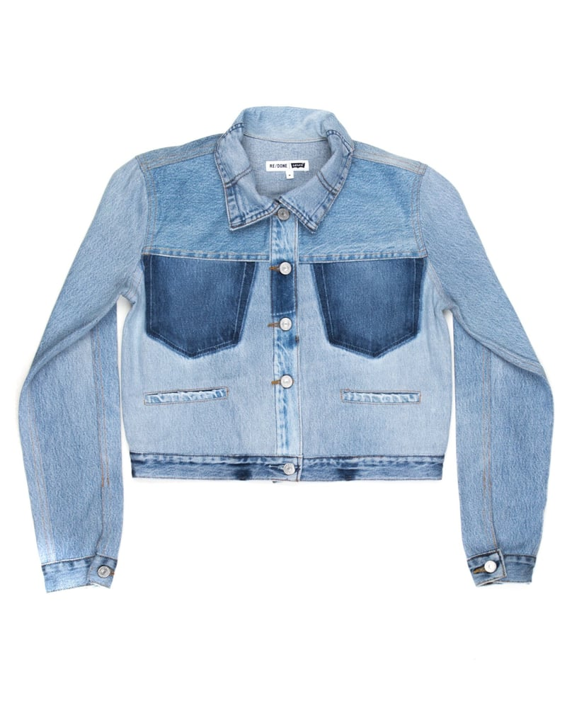 Re/Done Reconstructed Jean Jacket