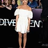 Zoë Kravitz at the Divergent Los Angeles Premiere
