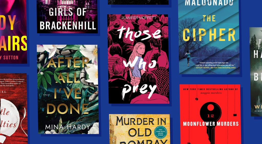 Best New Mystery and Thriller Books of November 2020