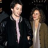 Matthew Broderick and Jennifer Grey