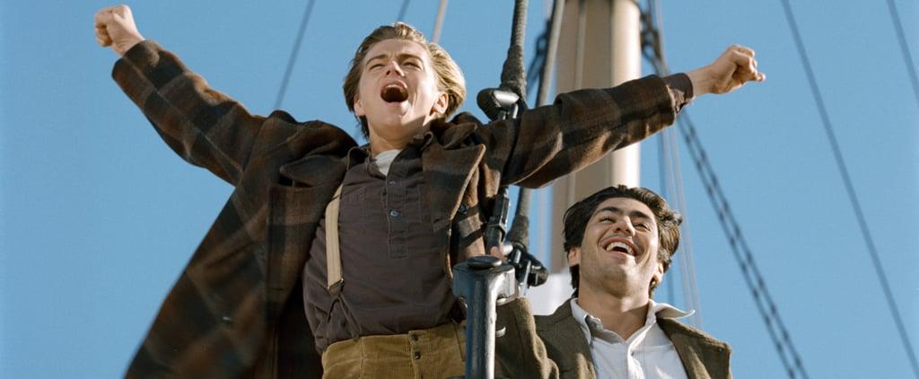 "Leonardo DiCaprio Hates ""I'm King of the World"" Line Titanic"
