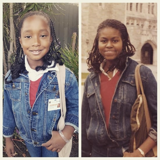 Girl Dresses Up Like College Michelle Obama at School