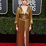 Lucy Boynton at the 2019 Golden Globe Awards