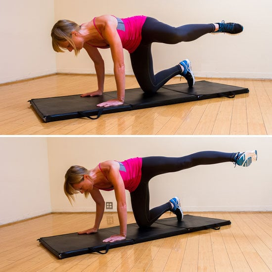 Side Kicks Butt Toning Exercises For Glutes Popsugar