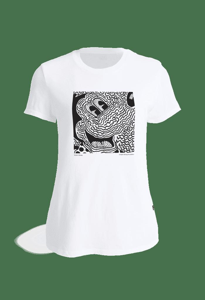 Levi's Women's Keith Haring x Crazy Mickey T-shirt