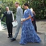 الأمير هاري وميغان ماركل يلتقيان بملك المغرب