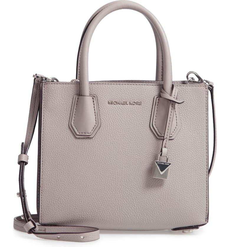 MICHAEL Michael Kors Medium Mercer Convertible Leather Tote