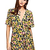 Milumia Floral Wrap Dress