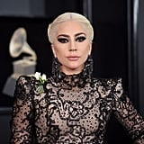 Lady Gaga's Major Smoky Eye at the Grammys