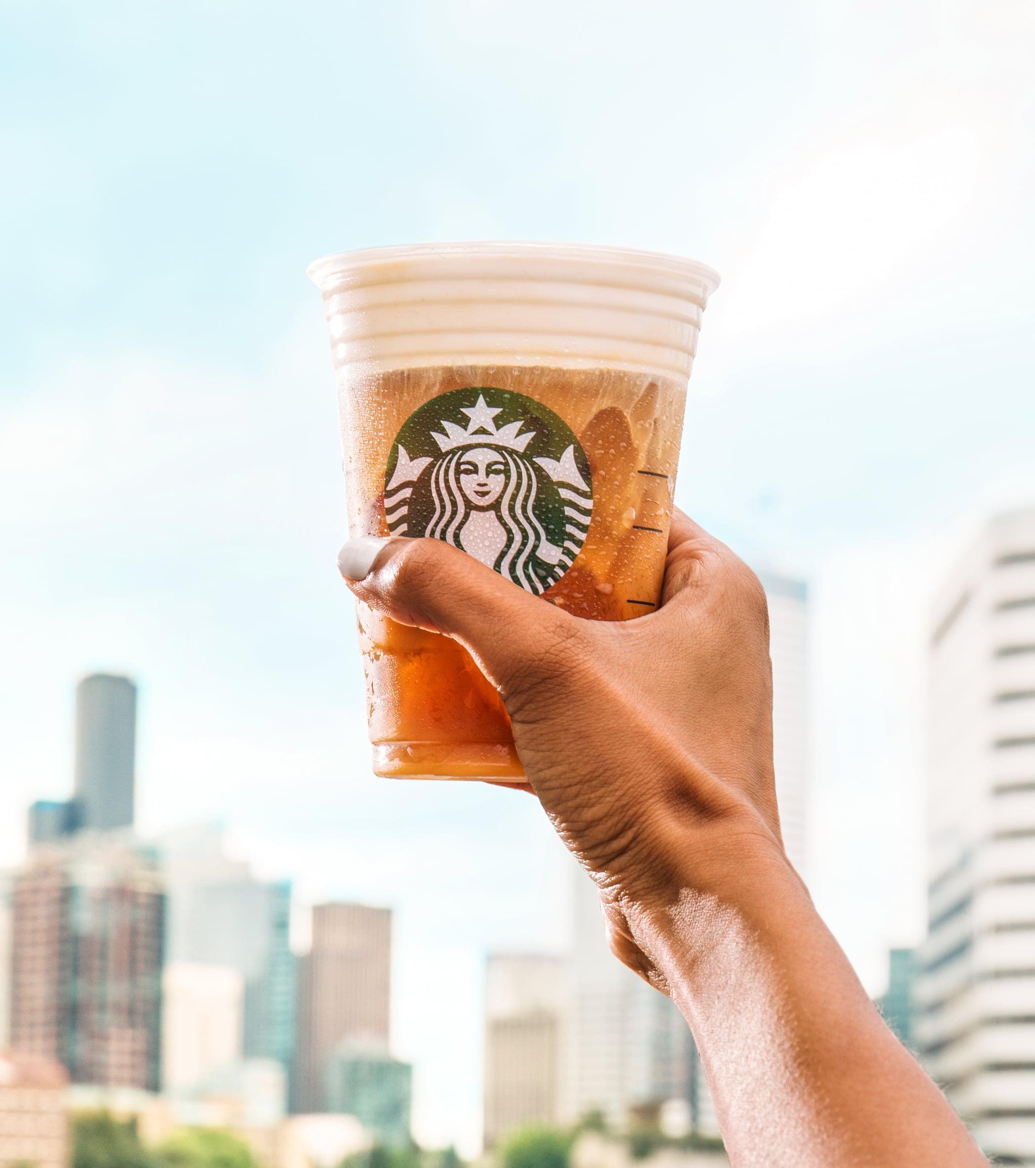 Starbucks Salted Cream Cold Foam And Vanilla Coconut Latte