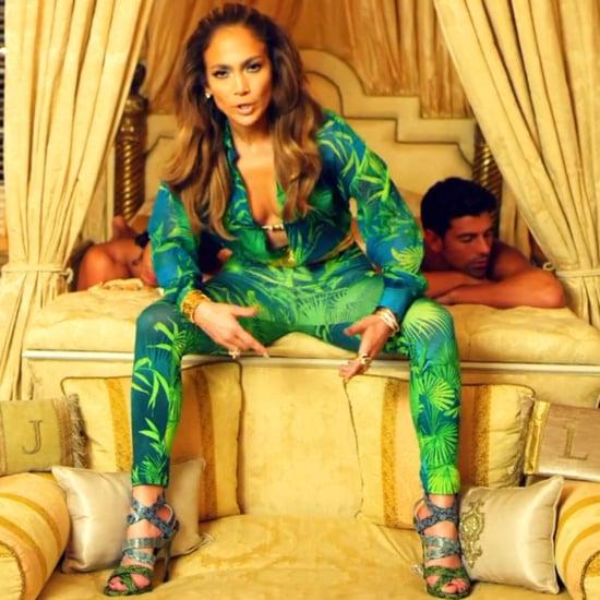 Jennifer Lopez Wearing Grammys Versace Dress in Music Video