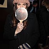 "Actress Liv Tyler sported an ""Alan"" beard at day two of Sundance in 2012."
