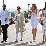 Kim Kardashian Easter 2015 Style
