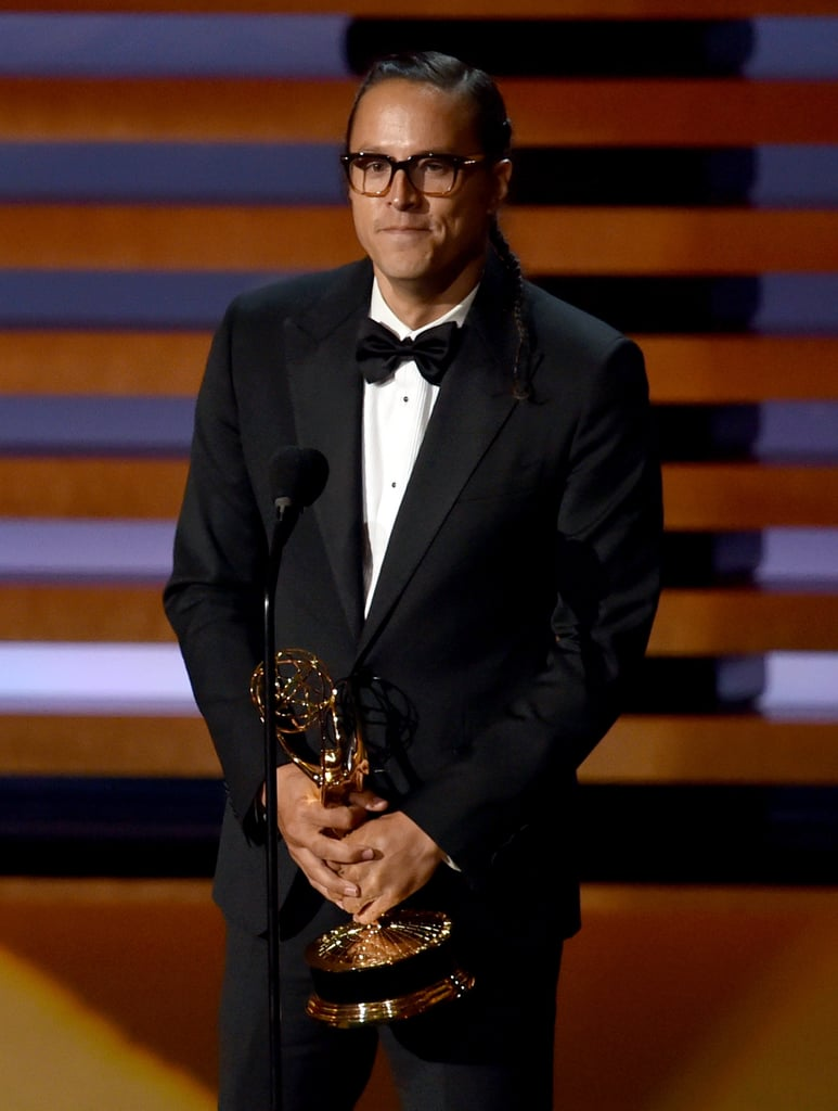 Cary accepting the Emmy for outstanding direction for a drama series.