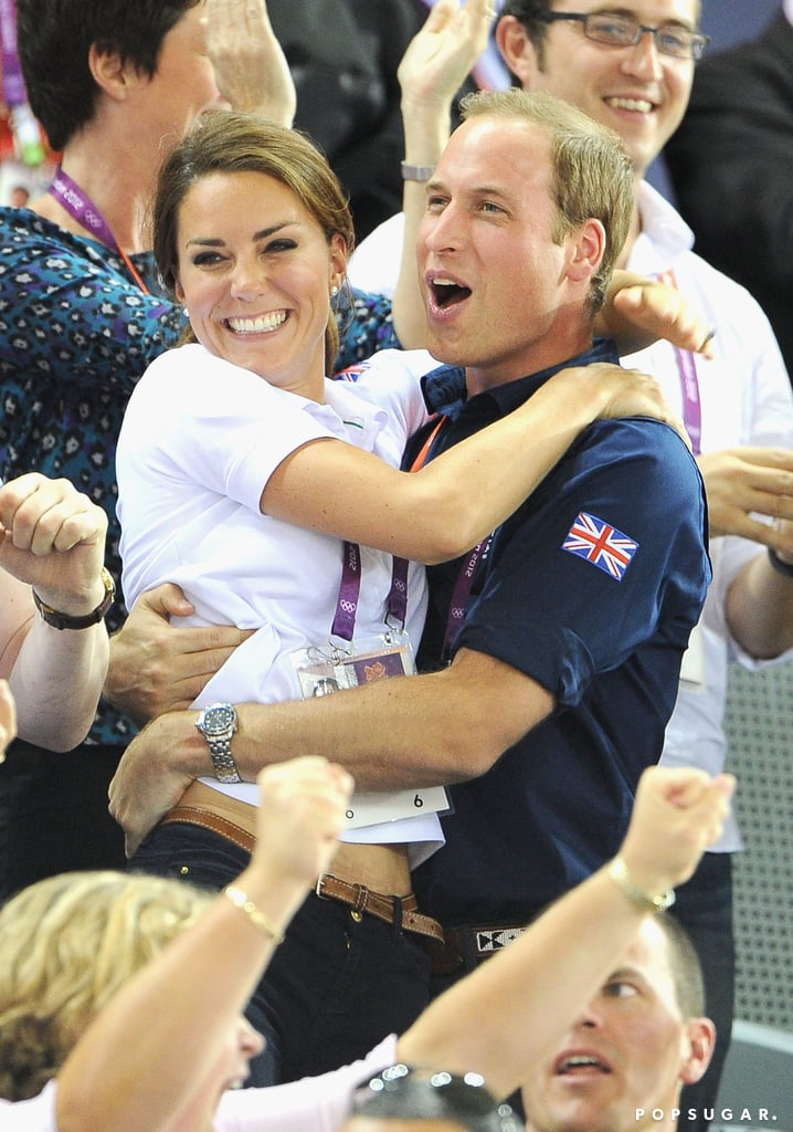 The Duke and Duchess of Cambridge aren't shy about showing their affection, whether they're hugging at the Olympics, on vacation in the Swiss Alps, or tending to royal duties, when they often share a look of love. Scroll through some of Will and Kate's cutest moments over the years, and then take a look back at the most gorgeous pictures from their 2011 wedding.