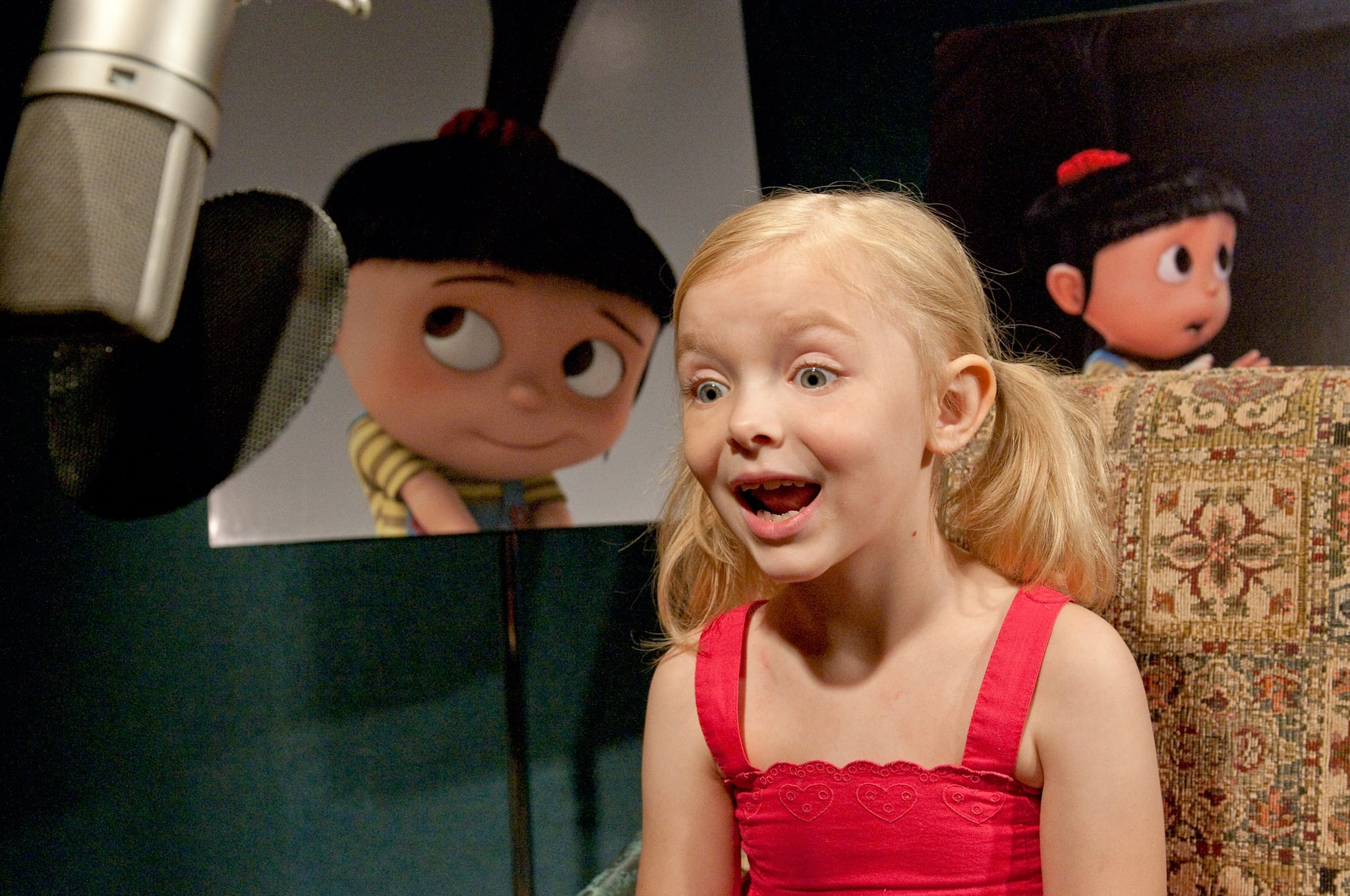 DESPICABLE ME, Elsie Fisher (voice of Agnes), 2010. ph: Suzanne Hanover/Universal/courtesy Everett Collection