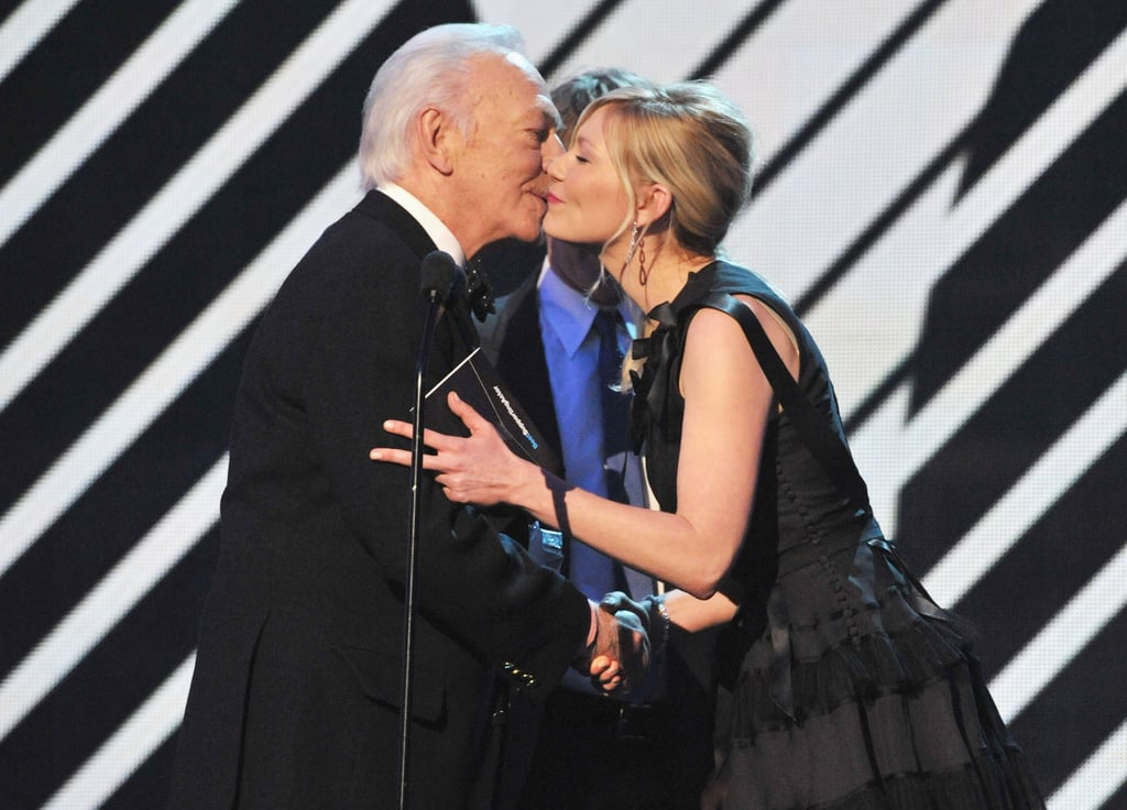 Christopher Plummer and Kirsten Dunst