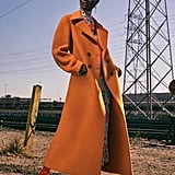 Don't be Afraid to Wear a Bright-Colored Coat This Fall