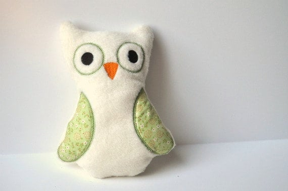 Stuffed Plush Owl ($15)