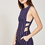 3x1's Tabby Short Hayden Stripe Romper ($295) makes for a one-and-done look.
