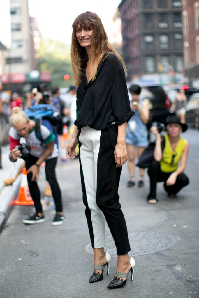 Black and white and utterly chic.