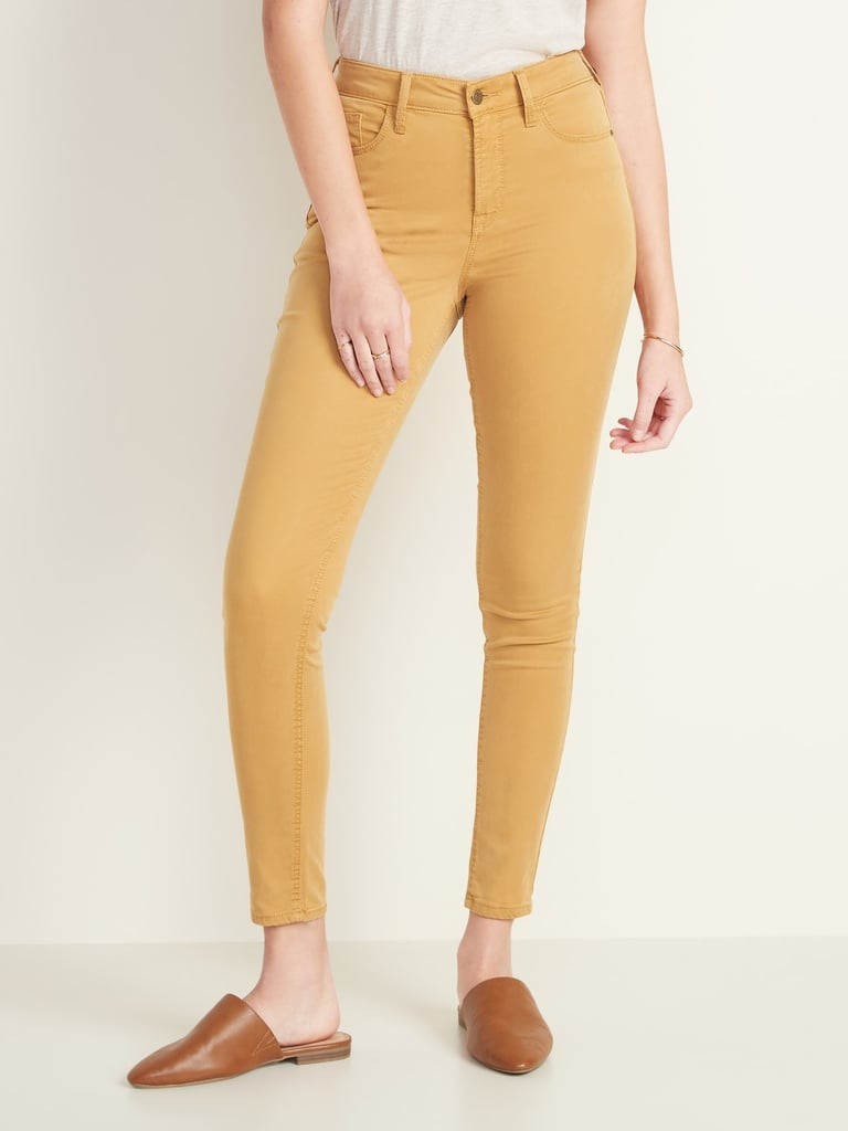 Old Navy High-Waisted Sateen Rockstar Super Skinny Jeans