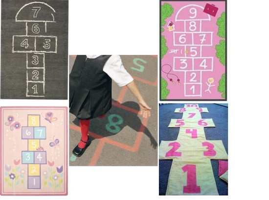 Hopscotch Rugs For Kids