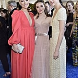 Olivia Wilde, Kaitlyn Dever, and Margaret Qualley at the 2020 Critics' Choice Awards