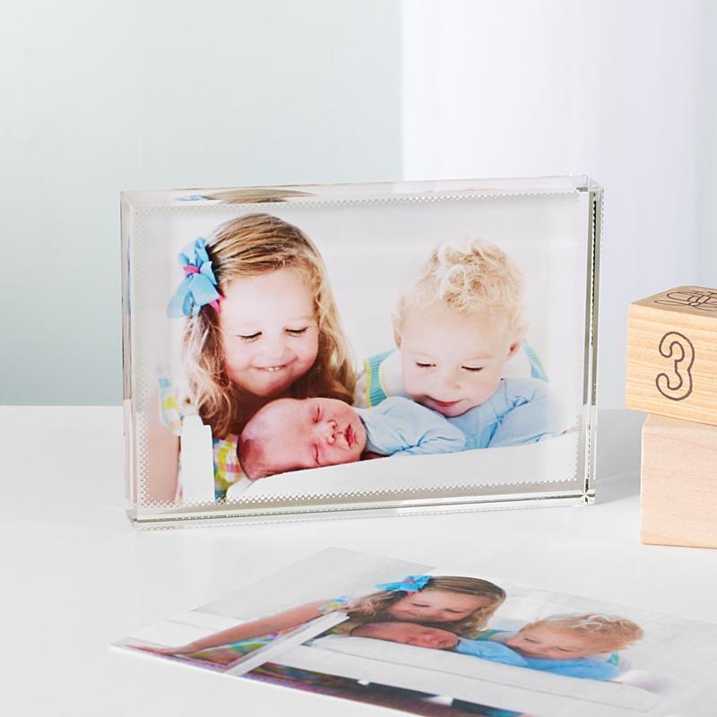 Custom Photo Glass Block