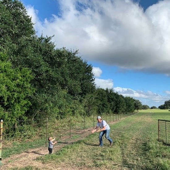 Chip and Joanna Gaines's Son, Crew, Takes His First Steps