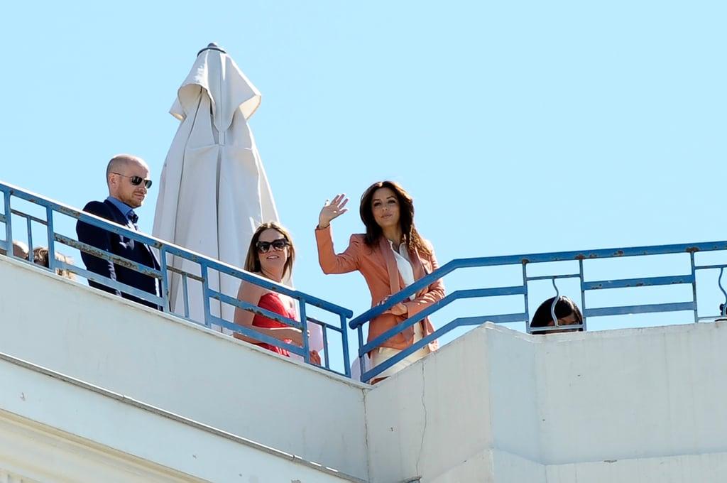 Eva Longoria had a photo shoot in Cannes.