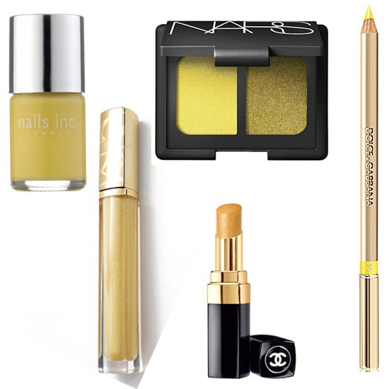 Yellow Makeup Trend for Spring Summer 2012