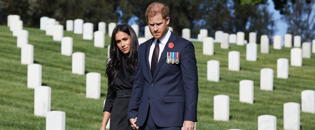 Meghan Markle and Prince Harry Honour Remembrance Sunday