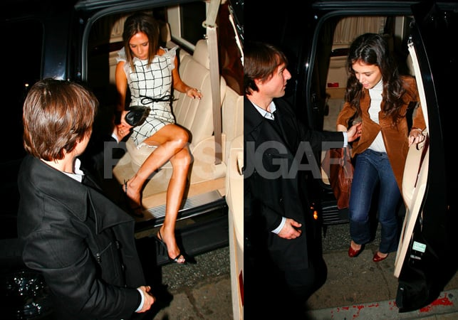 Tom Stops Short of Cutting Up Posh/Katie's Food For Them
