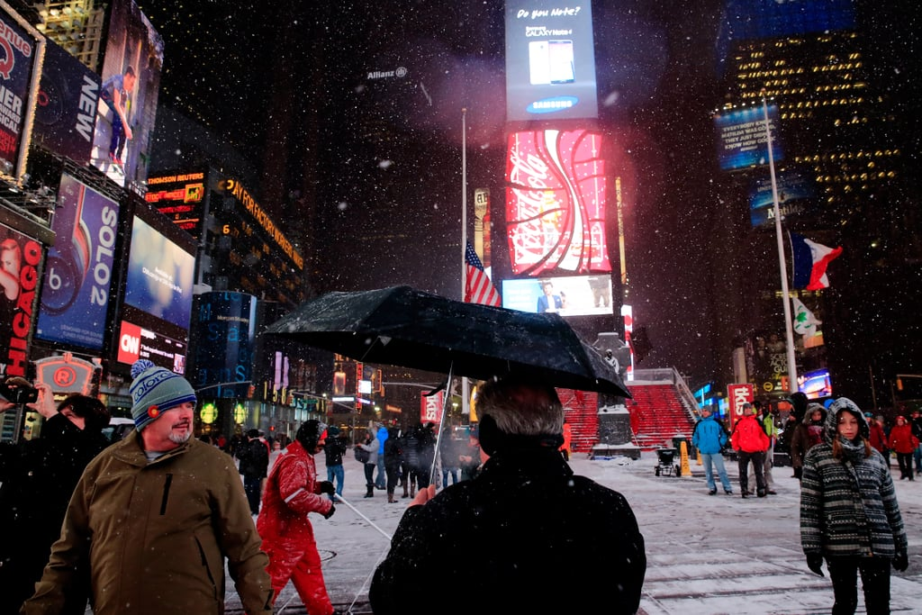 """People across the Northeast region of the US are preparing for a severe snowstorm, with #Snowmageddon2015 and #BlizzardOf2015 already trending on social media. Winter Storm Juno is expected to affect the region Monday through Wednesday, and the blizzard conditions may result in more than two feet of snow. At least 28 million people are in areas with storm warnings, and a state of emergency has been declared by the governors of New York and New Jersey. """"This will most likely be one of the largest blizzards in New York City history,"""" said NYC Mayor Bill de Blasio. """"It is not business as usual."""" Stay safe, and stay tuned for more updates."""
