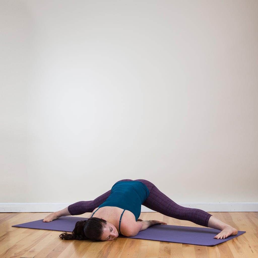 Wide Legged Split Yoga Sequence For Bikinis Popsugar