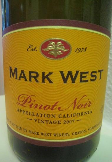 Happy Hour: 2007 Mark West Pinot Noir