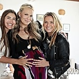 Molly Sims shared a sweet snap from her baby shower.  Source: Molly Sims on WhoSay